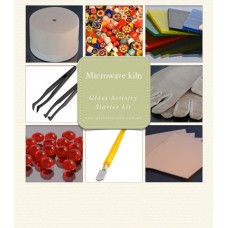 Microwave kiln kit for glass fusing - Glass Artistry starter kit